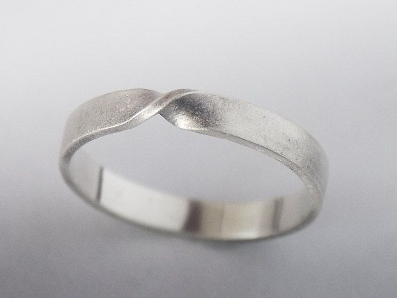 Mobius Ring Endless Twist Knot   Sterling Silver Mobius by BINSTER, $35.00