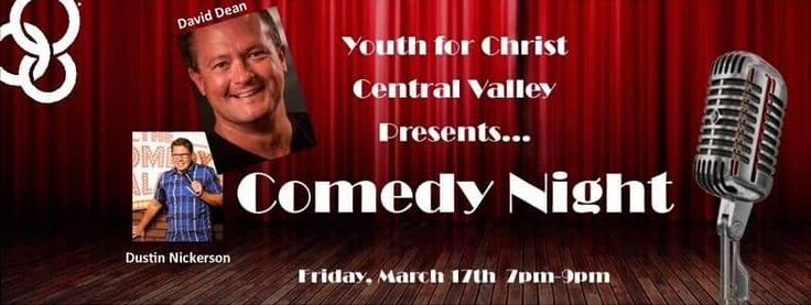 Modesto YFC Comedy Night   Come laugh with us! Join your friends at the first ever YFC Comedy Night with clean comedians David Dean & Dustin Nickerson Visit our Facebook event page    #209buzz  #modesto #stockton #turlock #merced #manteca #tracy #riverbank #oakdale #sonora #patterson #jackson #buzz #centralvalley #events #event #california #buzz209
