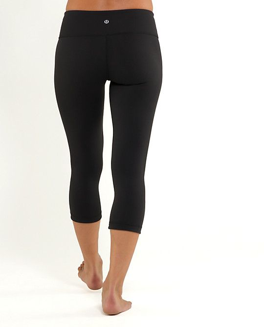 Lululemon's Wunder Under Crop is the most amazing yoga/running capri I've every owned. Worth every penny.