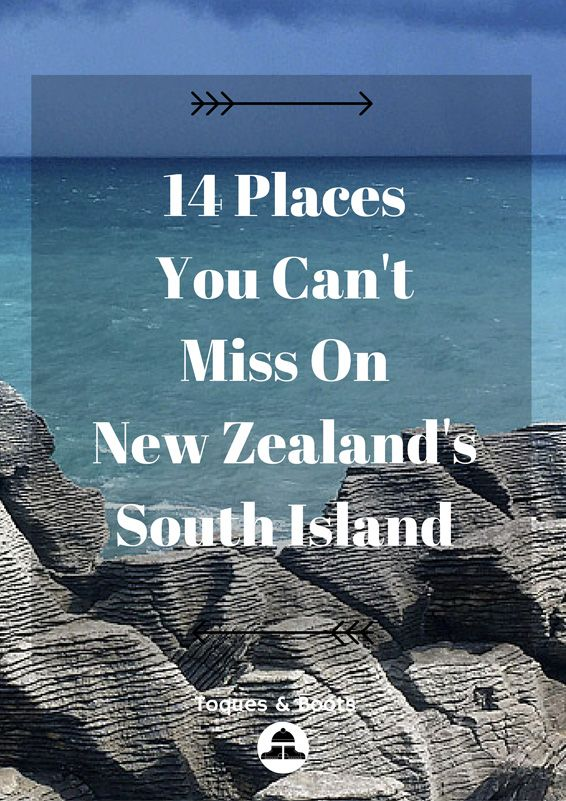 There are lots of things to see on New Zealand's South Island but here's 14…