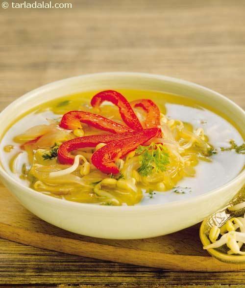 Bean Sprouts Soup