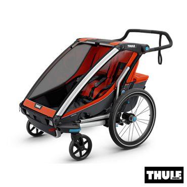 poussette double chez bebelelo laval et longueuil 1000$ www.bebelelo.com #thule #thulestroller #redstroller #jogging