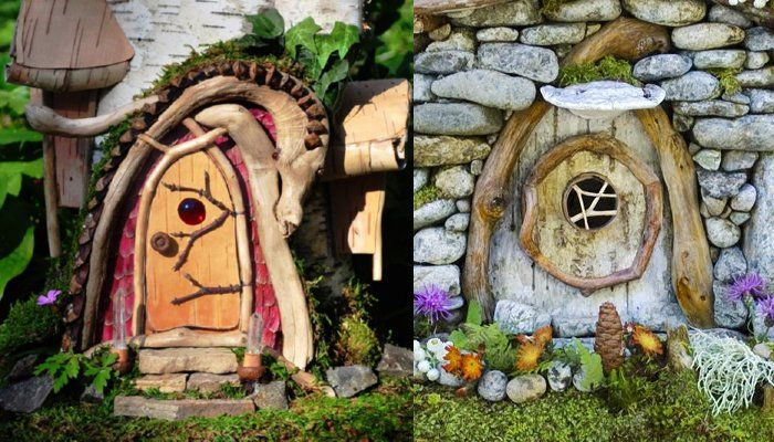 143 best images about i love fairy doors on pinterest for Idea behind fairy doors