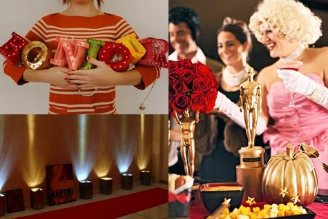 Complete #DIY decorating guide to hosting an awesome #Oscars party on the cheap