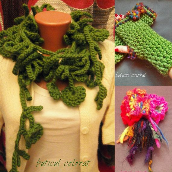 Check out this item in my Etsy shop https://www.etsy.com/listing/262350356/warm-crocheted-set-infinity-loop-scarf