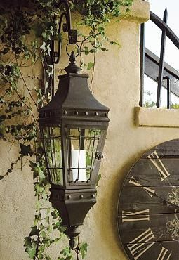 This picturesque lantern is perfect hanging by itself, flanking an entryway, or illuminating a longer walkway.: Outdoor Candles, Longer Walkways, Perfect Hanging, Rustic Hanging, Picturesqu Lanterns, Beautiful Lights, Hanging Lanterns, Accessories, Candles Lanterns