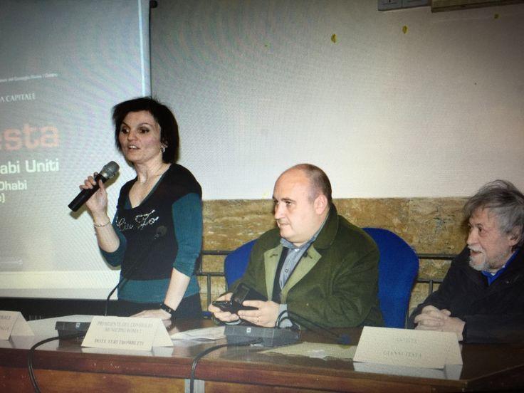Yuri Trombetti consigliere primo municipio roma capitale chiara testa coordinatrice generale il maestro Gianni testa.