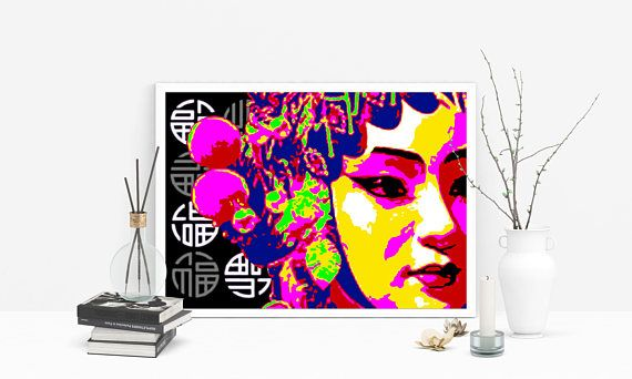 China DollChinese OperaLimited editionFineart papercanvas