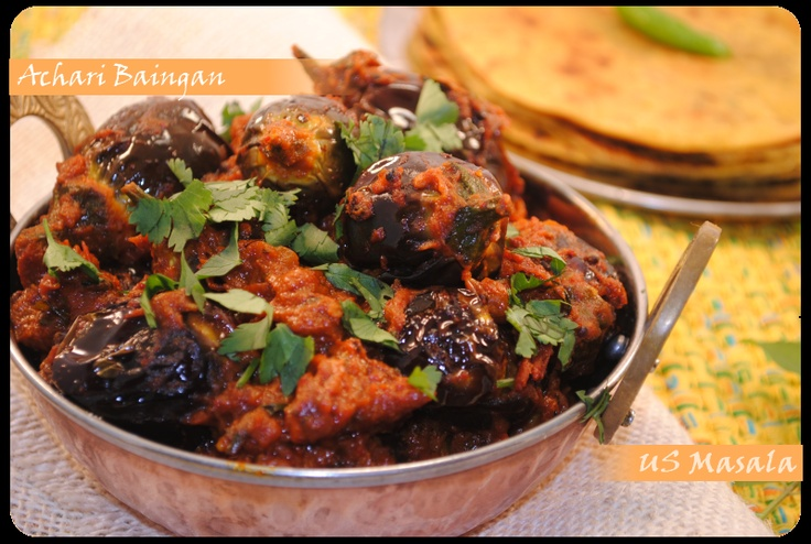 ... Baingan on Pinterest | Eggplant Curry, Eggplants and Baingan Masala