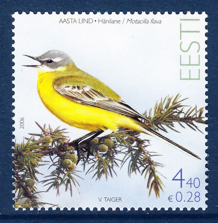 Estonia 2006 Bird of the Year MNH