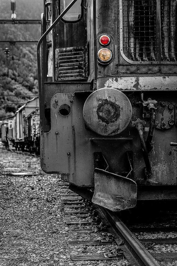 Old train by KennethMlgaardPhoto on Etsy