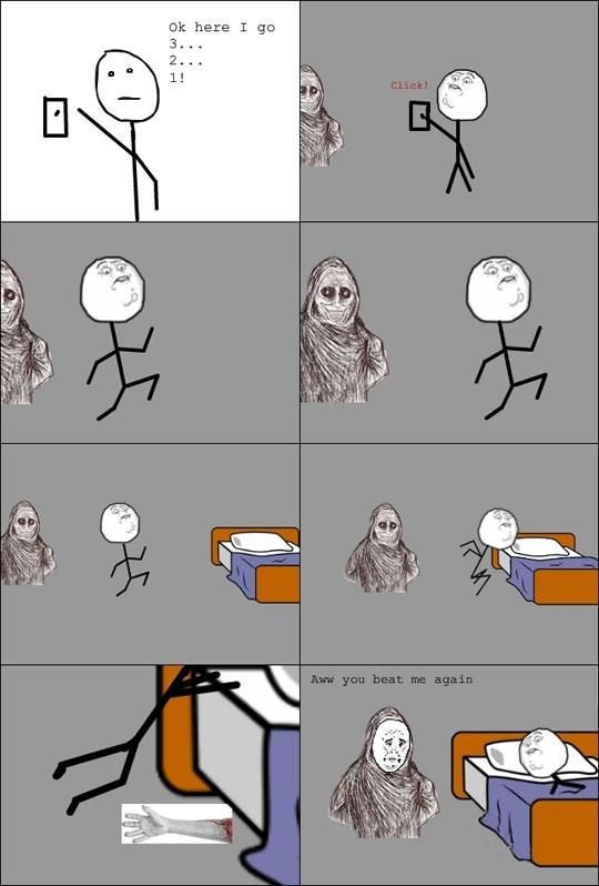 So true! Totally how I get into bed every night!!!