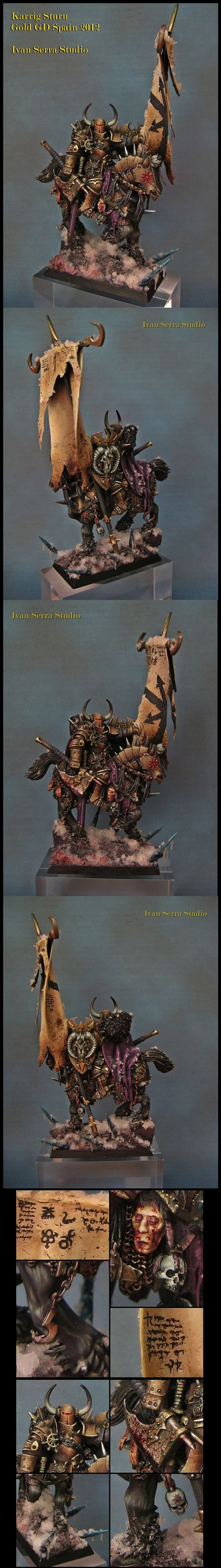 Warriors of Chaos Battle Standard Bearer