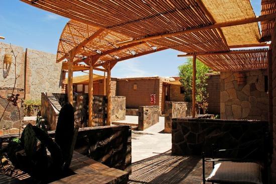 Hotel Kimal: zona de terrazas