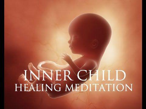Inner Child Healing Meditation ➤ Self Love Affirmations | Spiritual & Em...