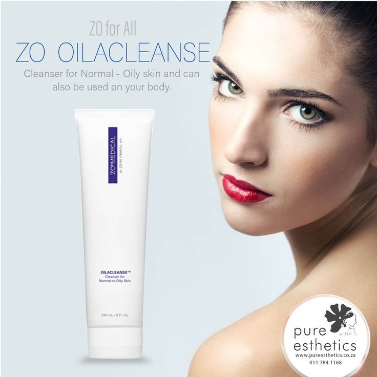 Cleanser for Normal - Oily skin and can also be used on your body. For more information or a booking please contact us at +2711 784 1168 #zooilacleanse #ZoSkinHealth @ZOSkinMedical