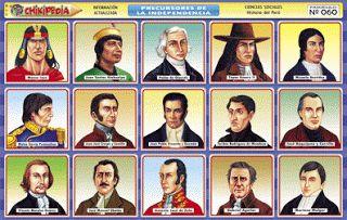 Toñito Avalos Ilustrador: TOÑILUSTRACIÓN: Próceres y Precursores de la Independencia del Perú! caricaturas, ilustrador, ilustraciones,caricaturas en vivo
