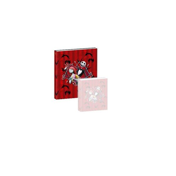 Nightmare Before Christmas Notizbuch mit Musik Jack & Sally - 11 x 13 cm