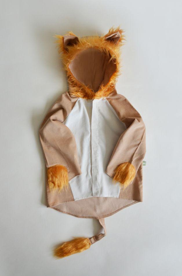 Löwenkostüm für Kinder / lion costume for kids made by maii-berlin via DaWanda.com