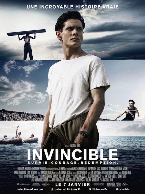 Critique de Invincible (Unbroken) de Angelina Jolie en salles françaises ce mercredi 7 Janvier 2015