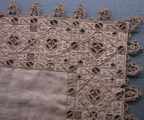 Italian Needlework: Reticello