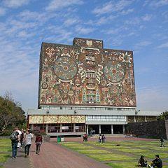 La biblioteca, UNAM