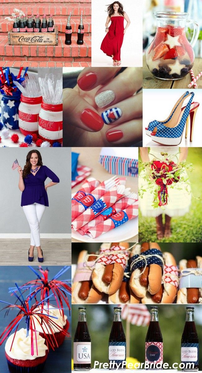 Happy Birthday America | Pretty Pear Bride