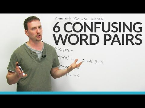 Confusing Words – affect & effect, compliment & complement, and more! - YouTube