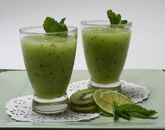 Honeydew-Kiwifruit-Smoothie Recipe...mmmmm | Yummy! | Pinterest | Heat ...