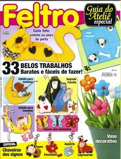 moldes feltro - Rosita Rosales - Picasa Web Albums... FREE BOOK AND LOTS OF PATTERNS!!