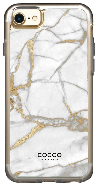 Gold Exotic Marble Case - iPhone 7/6S/6