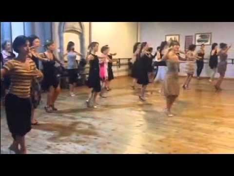TangoViPedia 02: Mariana Montes  - women technique workout