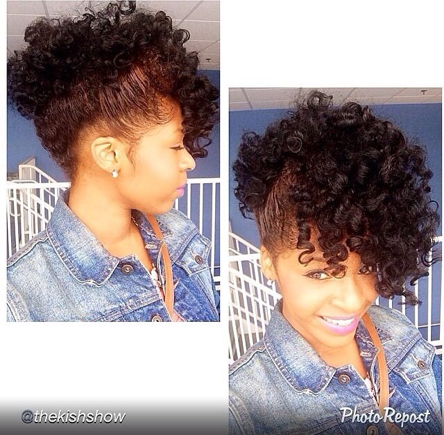 76 best both straight and natural p images on pinterest haircut natural updo solutioingenieria Images