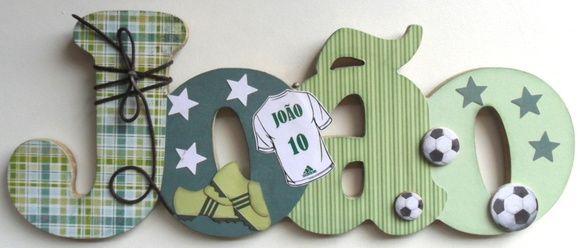 Nome+decorado+em+MDF+e+Scrap+personalizado+para+decoração+de+quarto,+porta+maternidade,+festas...+Tema+e+cores+a+sua+escolha R$ 62,92