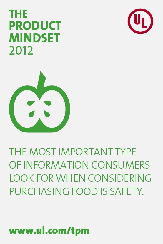 Food safety is a major concern for consumers.