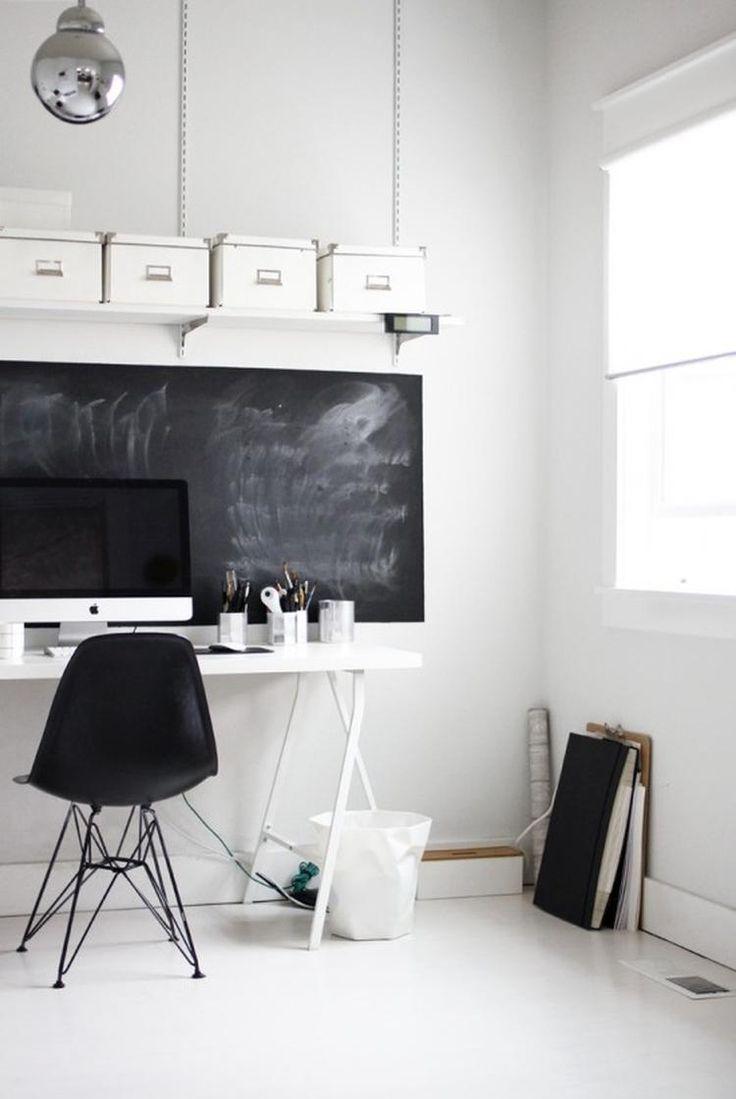 Leuk voor de tienerkamer, krijtbord boven het bureau