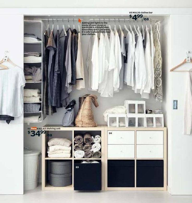 19 best dressing images on Pinterest Bedroom ideas, Dressing room - reglage porte placard ikea