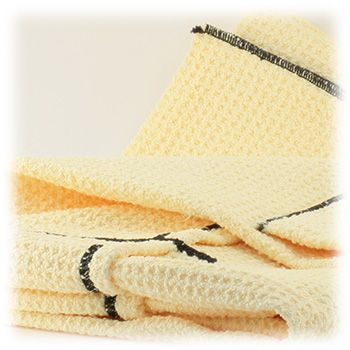 Toalla de secado de microfibra waffle weave 95x60cm (T15)