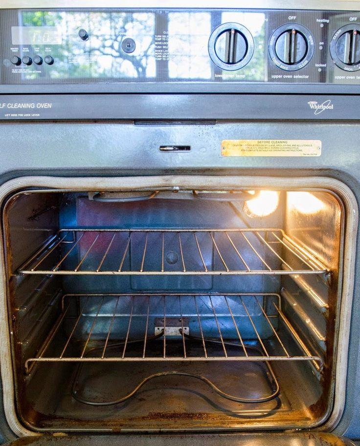 Πώς να καθαρίσετε το φούρνο με μαγειρική σόδα και ξύδι! | Φτιάξτο μόνος σου - Κατασκευές DIY - Do it yourself