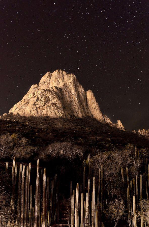 Peña de Bernal, Queretaro, Mexico  by Gerardo Aguilar.