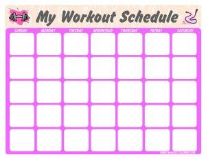 I have been looking for a nice printable workout Calender! Others available on this site! ~S