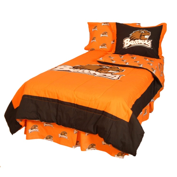 College Covers Oregon State Beavers Comforter Set
