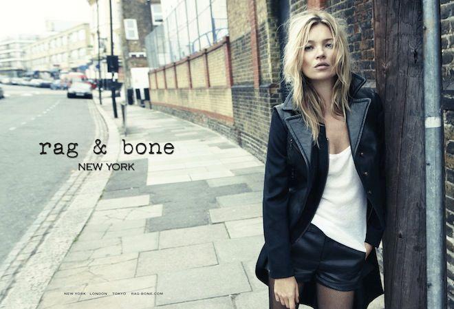 ラグ & ボーン初の広告キャンペーンにケイト・モスを起用 | Fashionsnap.com