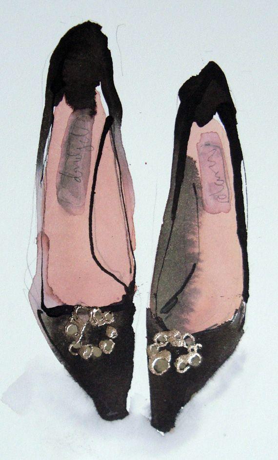 Black Shoes by Bridget Davies