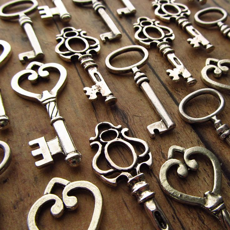 Skeleton Keys- I want to customize one with a D for Dre and the turn latch be a puzzle piece!