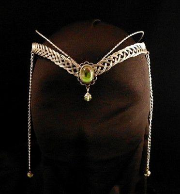 Medieval Renaissance Circlet Tiara Arwen Fantasy Elven | eBay