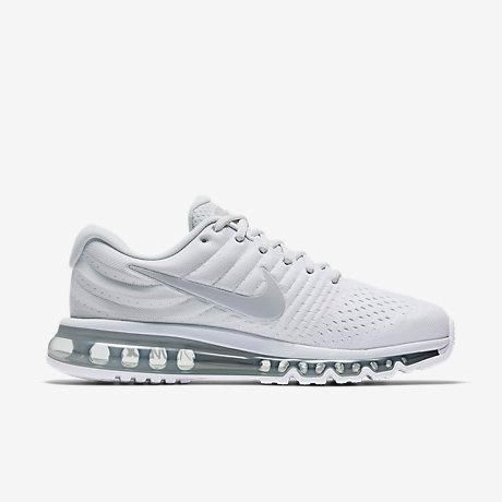 d6a25c8d51f Hot Nike Air Max 2017 Pure Platinum White Off White Wolf Grey
