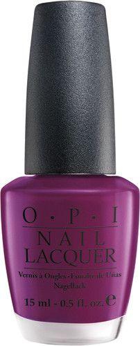 OPI Nail Polish NLE50 Pamplona Purple.