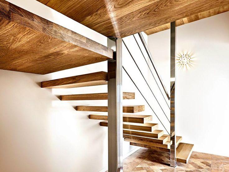 Открытая лестница SOSPESIA by OFFICINE SANDRINI