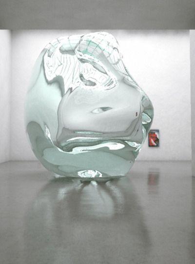 Lindsay Lawson - Impossible Non-Object of Desire, 2010, Harm Van Den Dorpel - Studie, 2010.